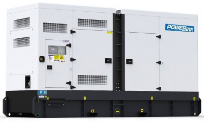 Дизельный генератор Power Link GMS375CS в кожухе с АВР