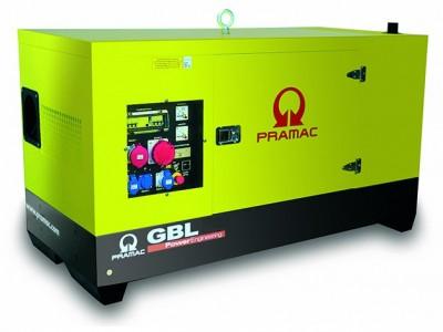 Дизельный генератор Pramac GSL 65 D в кожухе с АВР