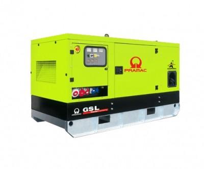 Дизельный генератор Pramac GSL 30 D в кожухе