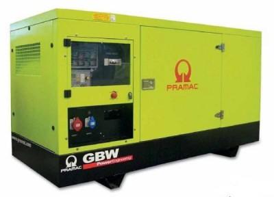 Дизельный генератор Pramac GSW 80 P в кожухе