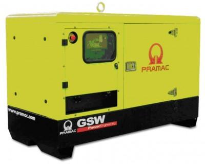Дизельный генератор Pramac GSW 22 Y  AUTO в кожухе