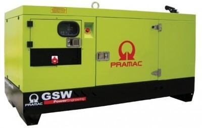 Дизельный генератор Pramac GSW 15 Y в кожухе