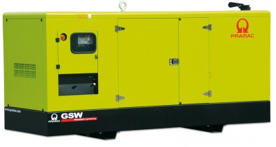 Дизельный генератор Pramac GSW 275 V в кожухе