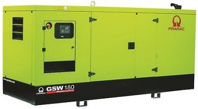Дизельный генератор Pramac GSW 180 P в кожухе с АВР