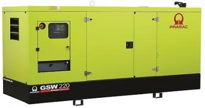 Дизельный генератор Pramac GSW 220 P в кожухе