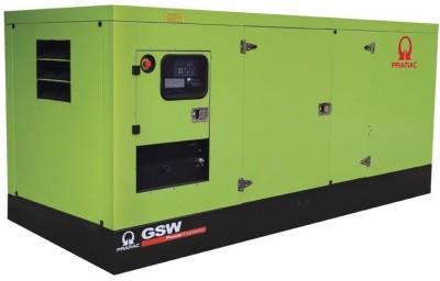 Дизельный генератор Pramac GSW 275 DO в кожухе с АВР