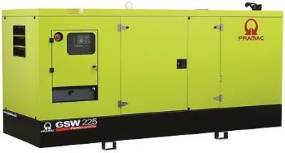 Дизельный генератор Pramac GSW 225 I в кожухе