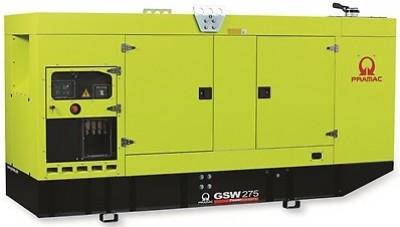 Дизельный генератор Pramac GSW 275 P в кожухе
