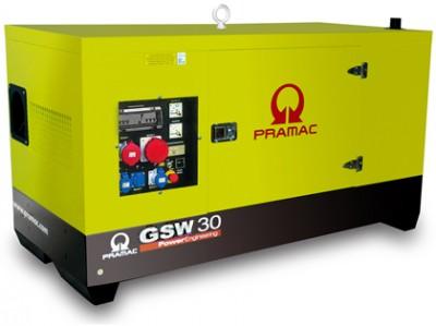 Дизельный генератор Pramac GSW 30 Y  AUTO в кожухе