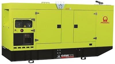 Дизельный генератор Pramac GSW 315 P в кожухе