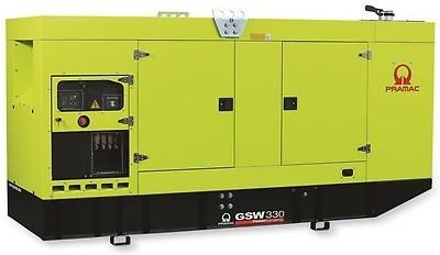 Дизельный генератор Pramac GSW 330DO в кожухе с АВР