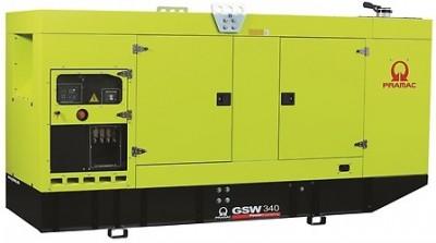 Дизельный генератор Pramac GSW 340 P в кожухе