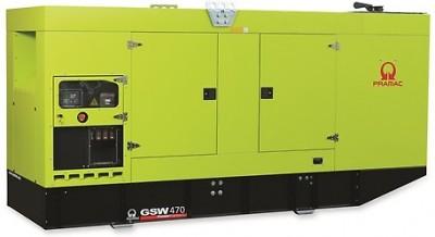 Дизельный генератор Pramac GSW 470 P в кожухе