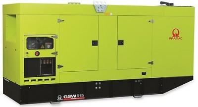 Дизельный генератор Pramac GSW 515 P в кожухе