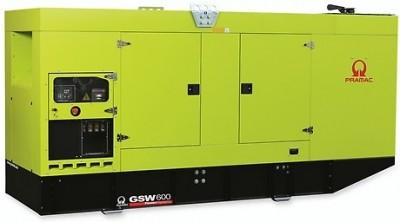 Дизельный генератор Pramac GSW 600 V в кожухе