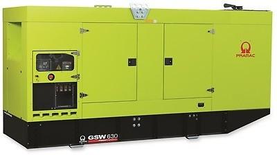 Дизельный генератор Pramac GSW 630DO в кожухе