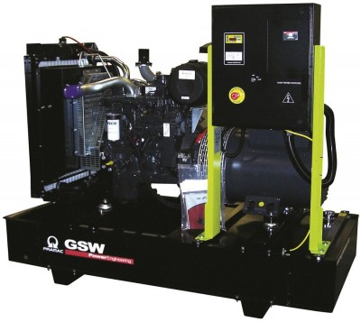 Дизельный генератор Pramac GSW 65 I