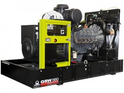 Дизельный генератор Pramac GSW 510 V
