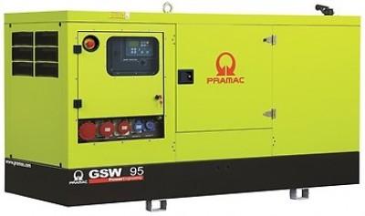 Дизельный генератор Pramac GSW 95 P в кожухе