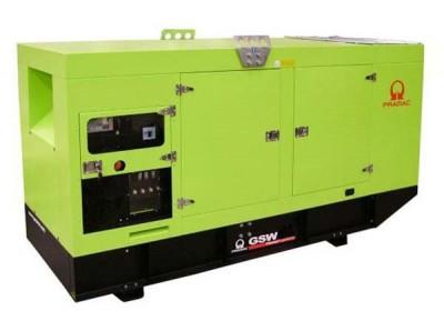 Дизельный генератор Pramac GSW 170 V в кожухе