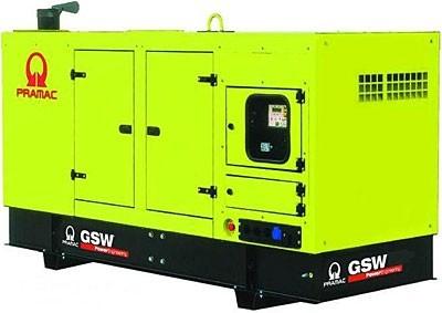 Дизельный генератор Pramac GSW 110 V в кожухе с АВР