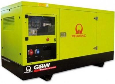 Дизельный генератор Pramac GSW220 V в кожухе с АВР