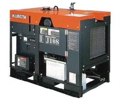 Дизельный генератор Kubota J 108