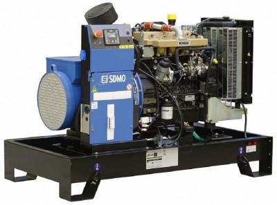 Дизельный генератор SDMO K33 с АВР