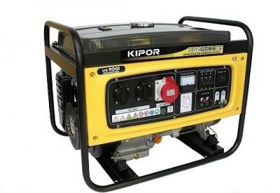 Бензиновый генератор Kipor KGE6500X3