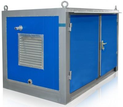 Дизельный генератор SDMO J22 в блок-контейнере ПБК 2 с АВР