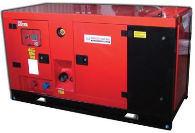 Дизельный генератор MingPowers M-Y44 в кожухе с АВР
