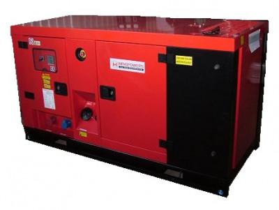 Дизельный генератор MingPowers M-Y33 в кожухе с АВР