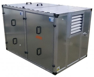 Бензиновый генератор Honda EM10000 в контейнере с АВР