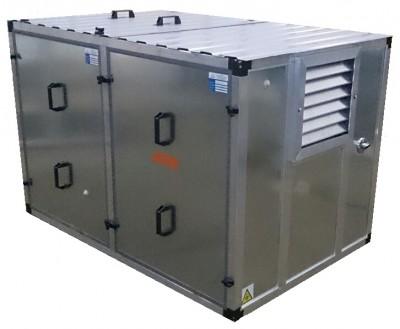 Бензиновый генератор Mitsui Power ZM 9500 E в контейнере