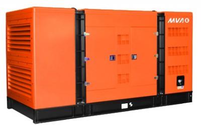 Дизельный генератор MVAE АД-500-400-С в кожухе