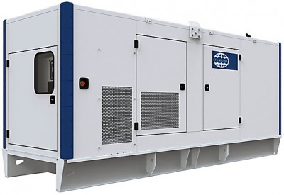 Дизельный генератор FG Wilson P550-3 в кожухе с АВР
