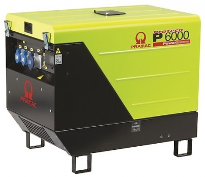 Дизельный генератор Pramac P 6000 3 фазы AUTO