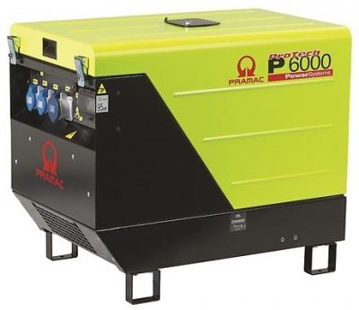 Дизельный генератор Pramac P 6000