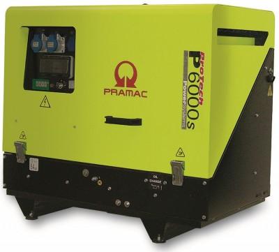 Дизельный генератор Pramac P 6000s AUTO