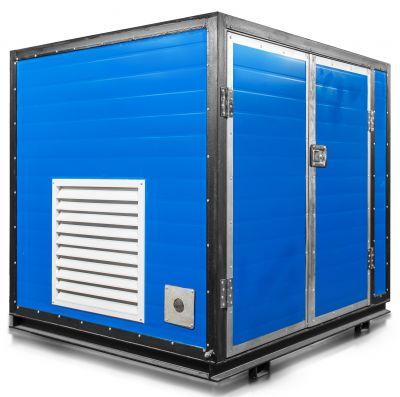 Бензиновый генератор Mitsui Power ZM 6500 E в контейнере с АВР