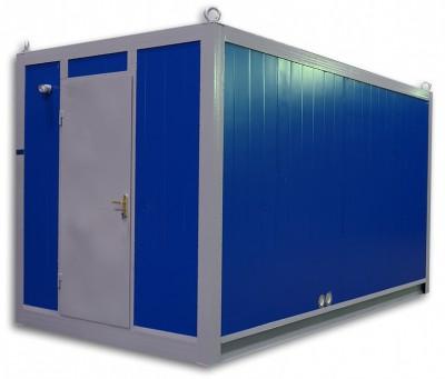 Дизельный генератор SDMO J33 в блок-контейнере ПБК 3 с АВР