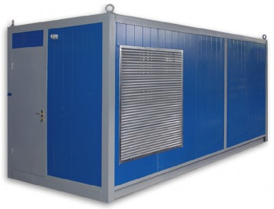 Дизельный генератор Elcos GE.CU.550/500.BF в контейнере с АВР