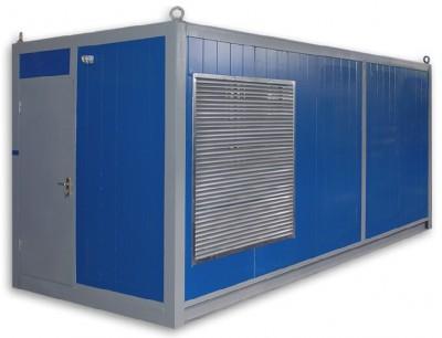 Дизельный генератор Aksa AVP-550 в контейнере с АВР