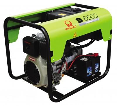 Дизельный генератор Pramac S6500 с АВР