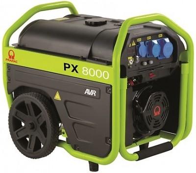 Бензиновый генератор Pramac PX 8000 3 фазы с АВР