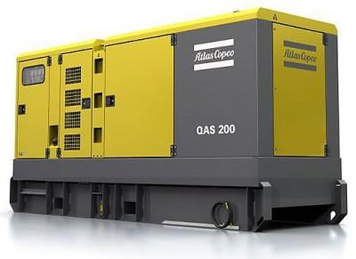 Дизельный генератор Atlas Copco QAS 200