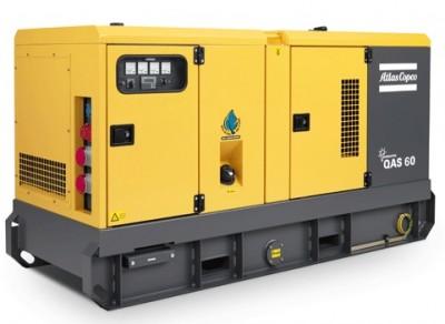 Дизельный генератор Atlas Copco QAS 60