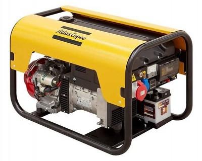 Бензиновый генератор Atlas Copco QEP R6.5 с АВР