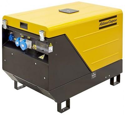 Дизельный генератор Atlas Copco QEP S10 с АВР