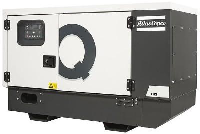Дизельный генератор Atlas Copco QIS 10 230V в кожухе